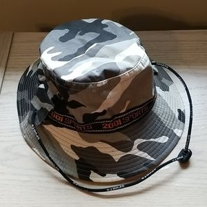Other - Camo Hat With Under The Chin Tie, 2001 Sports